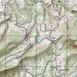 Kiser Lake Stokes County North Carolina Reservoir Hanging Rock - Kiser lake map