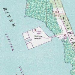 Nettles Island Florida Map.Nettles Island St Lucie County Florida Island Eden Usgs