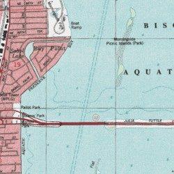 Intracoastal Waterway Miami Dade County Florida Channel Miami