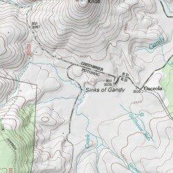 Sinks of Gandy, Randolph County, West Virginia, Basin [Sinks ... on summit lake, cheat river, seneca rocks, smoke hole canyon, gaudineer knob, white top, mount porte crayon, osceola map, blackwater falls map, north fork mountain, cranberry wilderness, canaan valley, blackwater canyon, elk river, cranberry glades botanical area, black fork, greenbrier river, potomac river map, ark map, otter creek wilderness, spruce mountain, lake sherwood, backbone mountain, gauley river,