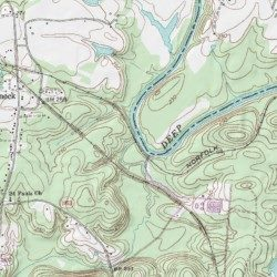 Big Buffalo Creek Lee County North Carolina Stream Colon Usgs
