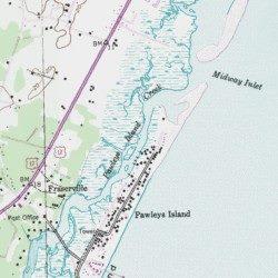 Pawleys Island South Carolina Map.Pawleys Island Creek Georgetown County South Carolina Gut