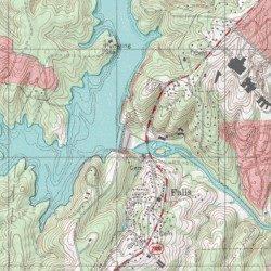 Falls Lake Wake County North Carolina Reservoir Wake Forest Usgs