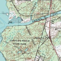 Carolina Beach State Park New Hanover County North Carolina Park