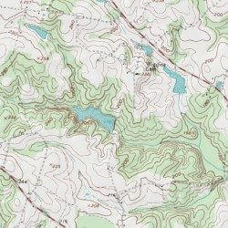 Moss Lake Number Two Dam, Halifax County, North Carolina