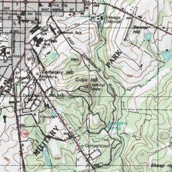 Hill Topographic Map.Culps Hill Adams County Pennsylvania Summit Gettysburg Usgs