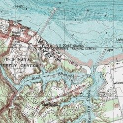 United States Coast Guard Training Center Yorktown York County - Us coast guard maps