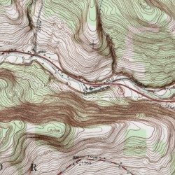 Occanum Falls Mobile Home Park Broome County New York Populated Place Windsor USGS Topographic Map By MyTopo