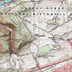 Fort Washington Map.Fort Washington Historical Montgomery County Pennsylvania Park