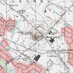 Mount Laurel Burlington County New Jersey Summit Moorestown Usgs