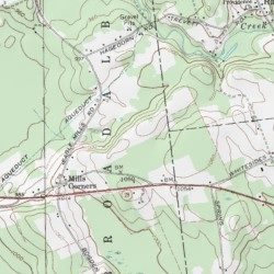 Rolling Ridge Mobile Home Park Fulton County New York Populated Place Galway USGS Topographic Map By MyTopo