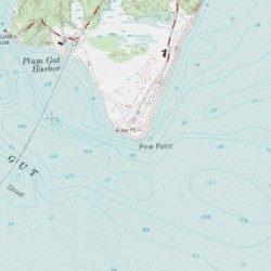Suffolk County New York Map.Pine Point Suffolk County New York Cape Plum Island Usgs