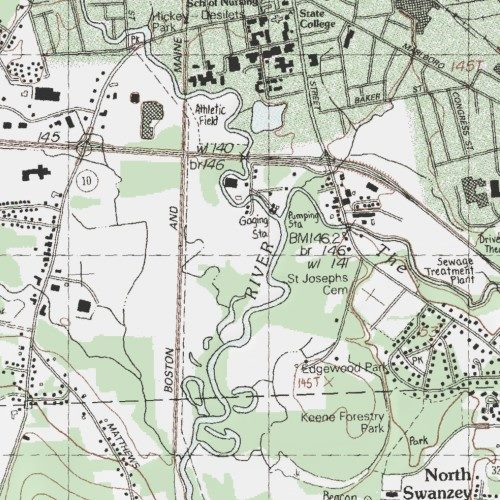 Keene State College Athletic Field Maps on