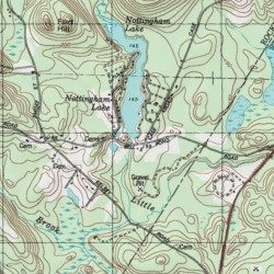Marston Pond Dam, Rockingham County, New Hampshire, Dam ... on