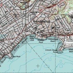 Cliff Topographic Map.Black Wills Cliff Essex County Massachusetts Cliff Lynn Usgs