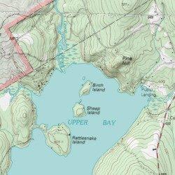 Lovell Maine Map.Birch Island Oxford County Maine Island Center Lovell Usgs