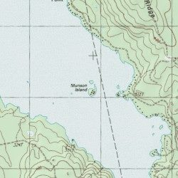 Grand Lake Stream Maine Map.Munson Island Washington County Maine Island Grand Lake Stream