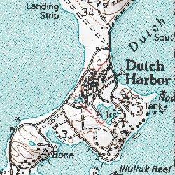 Dutch Harbor, Aleutians West (CA) County, Alaska, Populated Place
