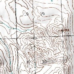 Denali National Park Topographic Map | stadslucht on