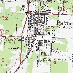 Palmer, Matanuska Susitna County, Alaska, Populated Place