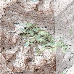 Boulder Basin, Blaine County, Idaho, Basin [Easley Hot Springs