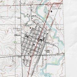 Alton, Sioux County, Iowa, Populated Place [Alton USGS Topographic
