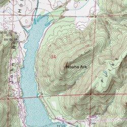 Noahs Ark, Marshall County, Alabama, Summit [Mount Carmel USGS