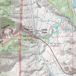 Big Thompson Canyon, Larimer County, Colorado, Valley ... on