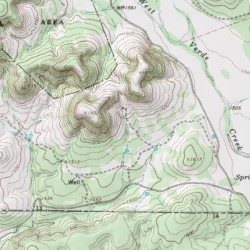 topographical map of texas hill country Hill Country State Natural Area Bandera County Texas Park