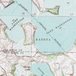 lake washington mn map Lake Washington Le Sueur County Minnesota Lake Madison Lake lake washington mn map