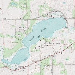 michigan center lake map Stony Lake Jackson County Michigan Lake Michigan Center Usgs michigan center lake map