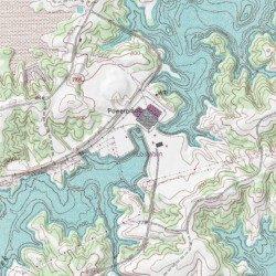 belews creek lake map West Belews Creek Stokes County North Carolina Stream Belews belews creek lake map
