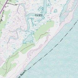 Huntington Beach State Park Georgetown County South Carolina Brookgreen Usgs Topographic Map By Mytopo