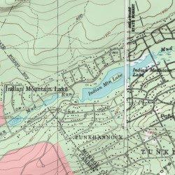 indian mountain lakes map Indian Mountain Lake Dam Monroe County Pennsylvania Dam indian mountain lakes map