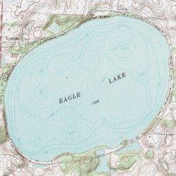 eagle lake mn map Eagle Lake Otter Tail County Minnesota Lake Eagle Lake Usgs eagle lake mn map