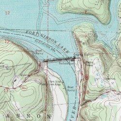 ft gibson lake map Fort Gibson Lake Wagoner County Oklahoma Reservoir Fort Gibson ft gibson lake map