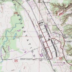 camp dodge iowa map Camp Dodge Polk County Iowa Military Des Moines Nw Usgs camp dodge iowa map