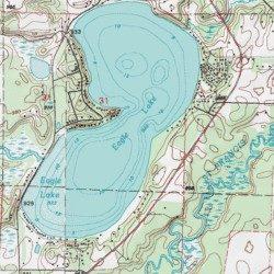 eagle lake mn map Eagle Lake Sherburne County Minnesota Lake Orrock Usgs eagle lake mn map
