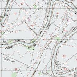 cane river louisiana map Cane River Lake Natchitoches County Louisiana Reservoir cane river louisiana map