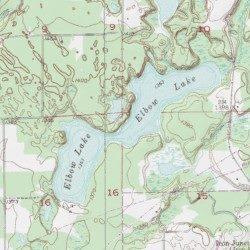elbow lake mn map Elbow Lake St Louis County Minnesota Lake Eveleth Usgs Topographic Map By Mytopo elbow lake mn map