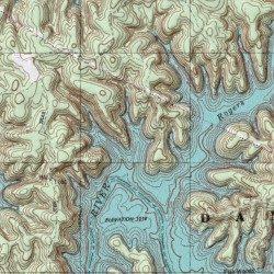laurel lake ky map Laurel River Lake Laurel County Kentucky Reservoir Vox Usgs laurel lake ky map