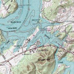 fort loudoun lake map Fort Loudoun Lake Blount County Tennessee Reservoir Louisville fort loudoun lake map