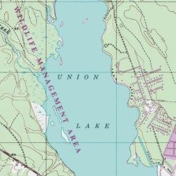 union lake nj map Union Lake Cumberland County New Jersey Reservoir Millville union lake nj map